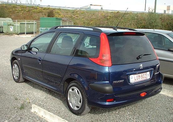 2003 Peugeot 206 Sw. 2003 Peugeot 206 SW Enfant