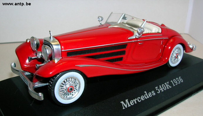 Mercedes-Benz 540K Ixo