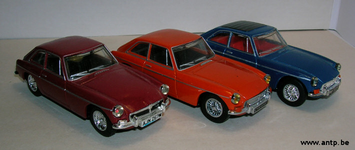 MG B GT Matchbox