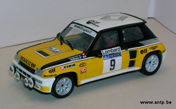 Renault 5 Turbo Skid