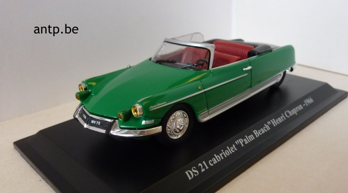 Citroën DS 19 Cabriolet Palm Beach Norev