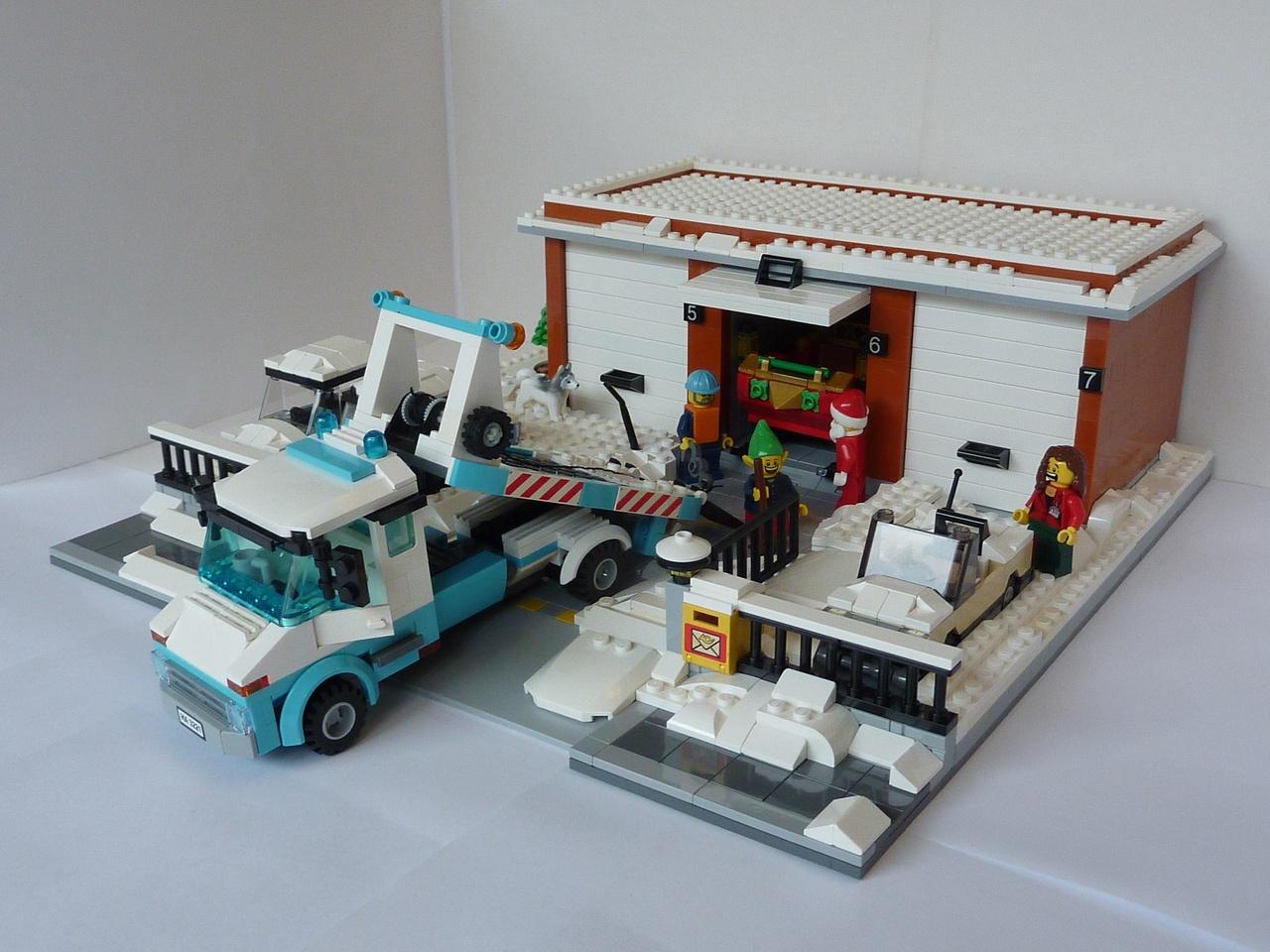 lego police car instructions 4436